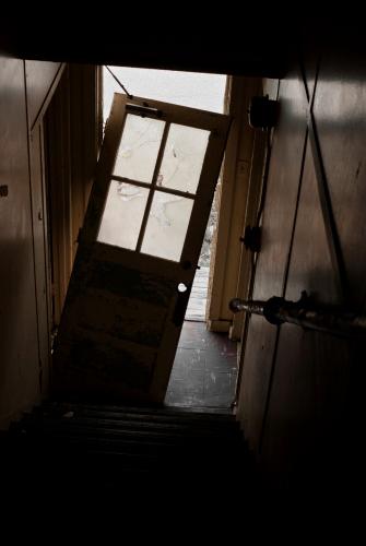 Door off hinges
